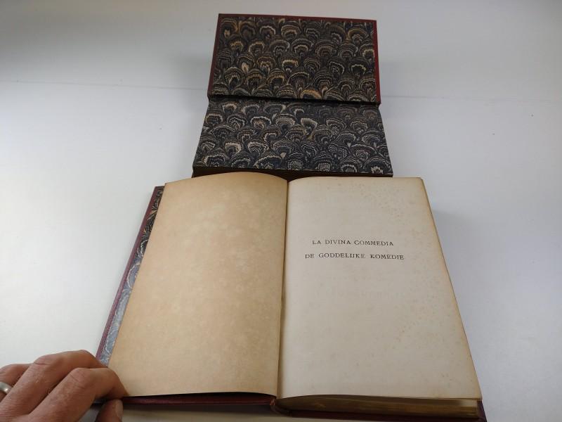 Dante Alighieri - De goddelijke komedie: de hel en het vagevuur 19de eeuw 2 delen