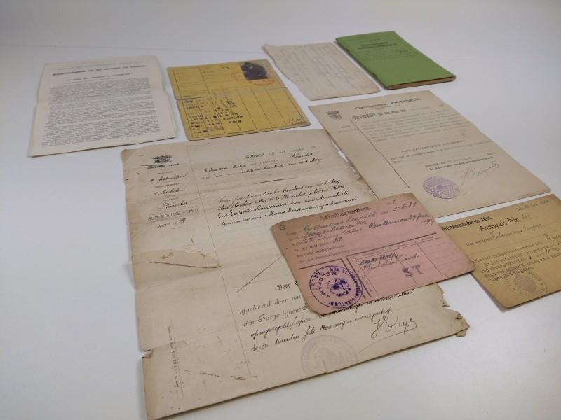 Genealogie : historische documenten 1881 - 1944