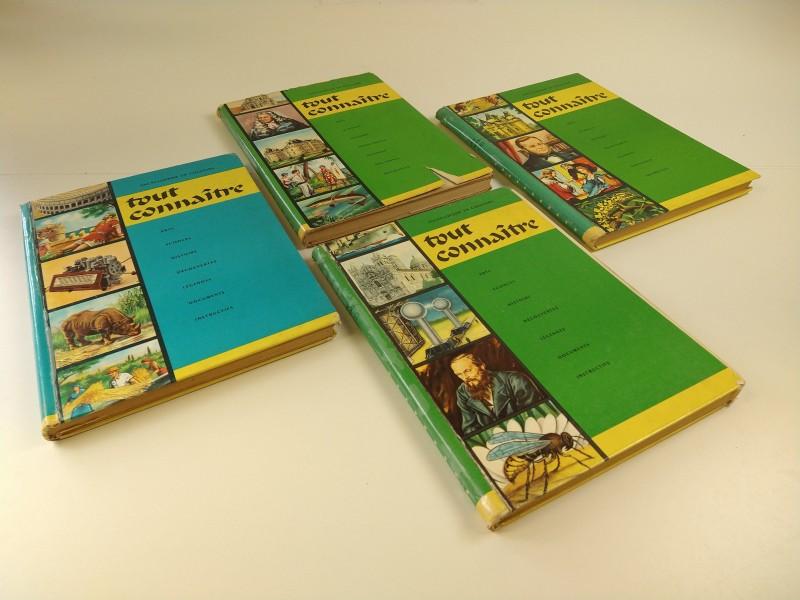Tout connaître:  4 delen nrs 5, 7, 9 en 11, jaren '60