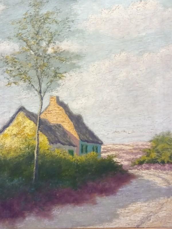schilderij A Pastur