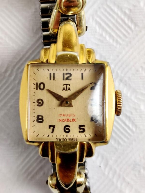 Art deco ATA horloge