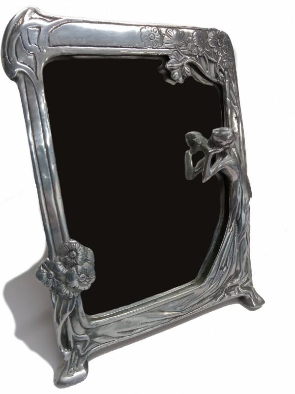 Grote art Nouveau spiegel