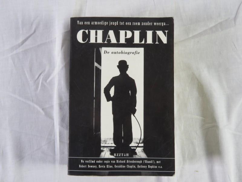 Boek- Chaplin - De autobiografie