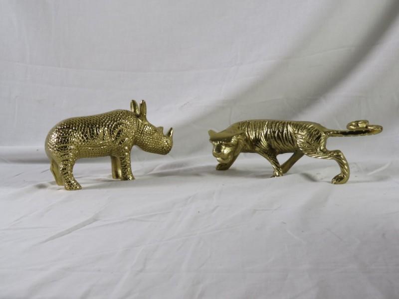 Goudkleurige diertjes