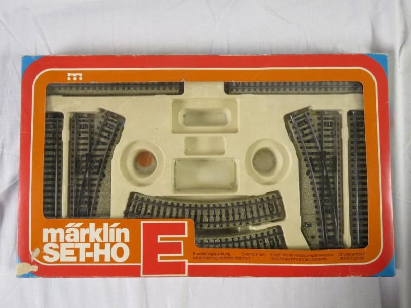 Marklin 5191 H0 M rail uitbreiding set E electrisch