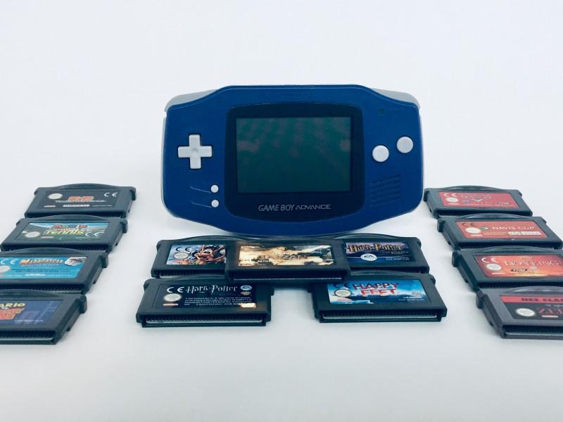 Game Boy Advance + 13 Games