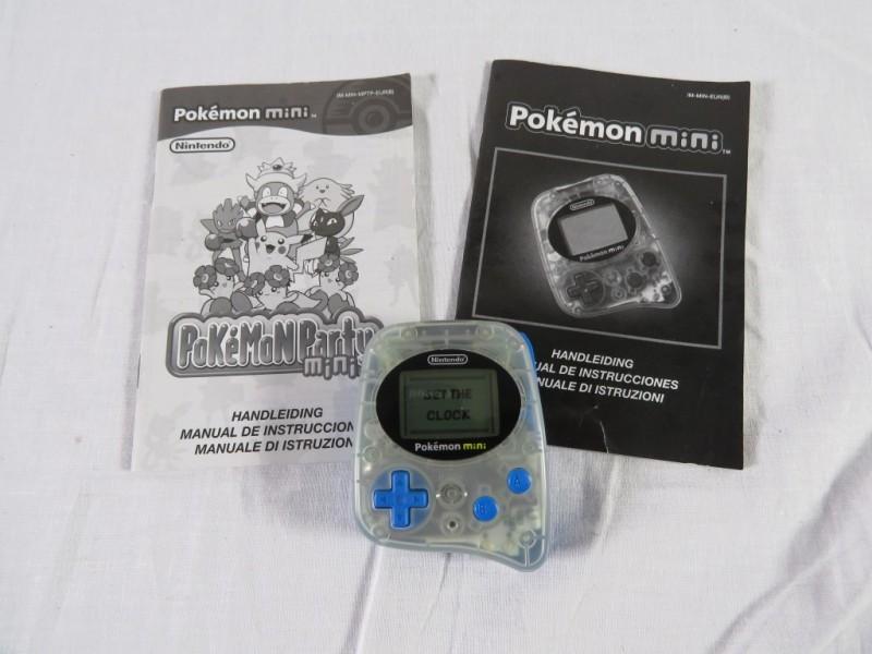 Nintendo Pokémon mini console met spelletje