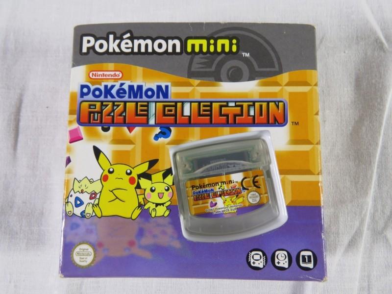 Nintendo Pokemon mini - Puzzle selection