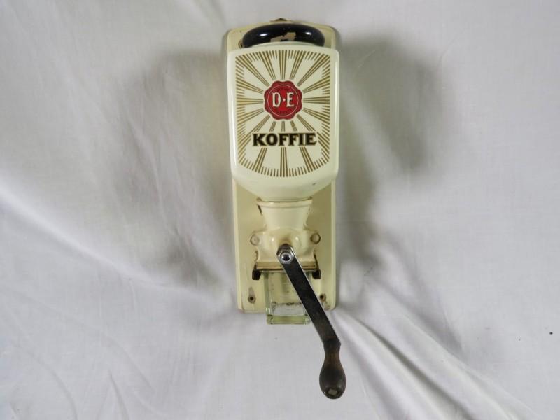 Vintage muurkoffiemolen Douwe Egberts