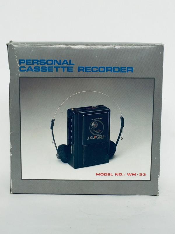Personal Cassette Recorder/Walkman - WM33