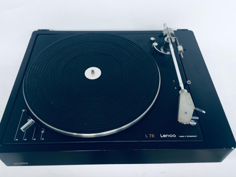 Platenspeler Lenco L78 Black Edition