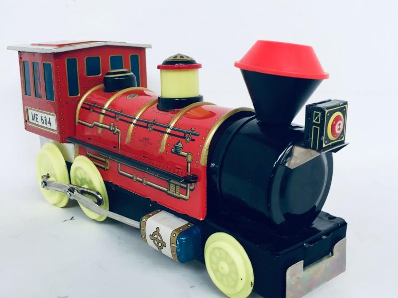60's Loco Tin Train ME684