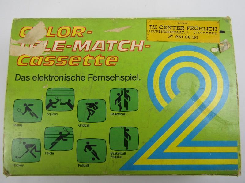 Vintage Game: Color-Tele-Match-Cassette 2, 1978