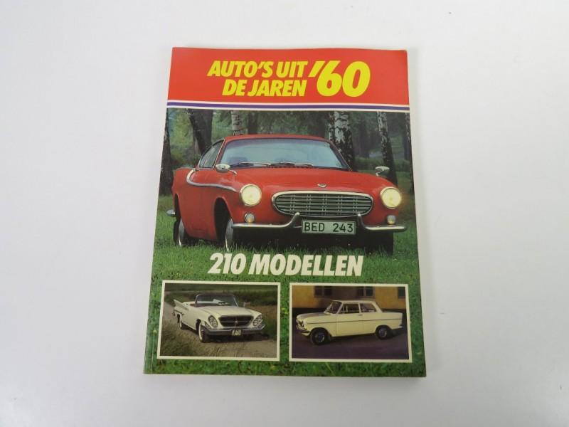 Boek - Auto's uit de jaren '60