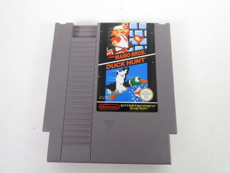 Nes game - Mario bros en Duckhunt