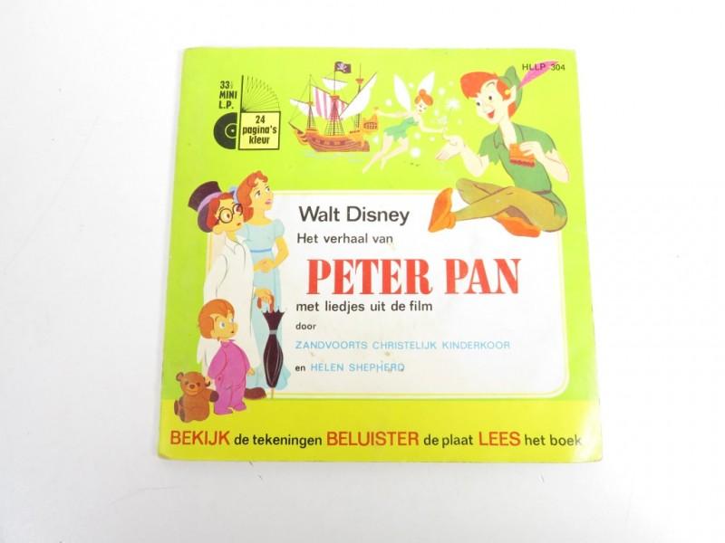 Kinderboekje met Lp - Peter Pan