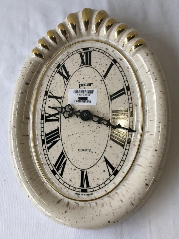 Handgemaakte klok - Peter/Quartz