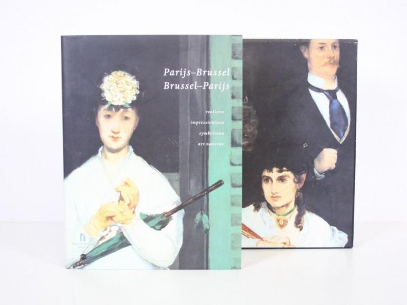 Prachtig boek Parijs-Brussel, Brussel-Parijs