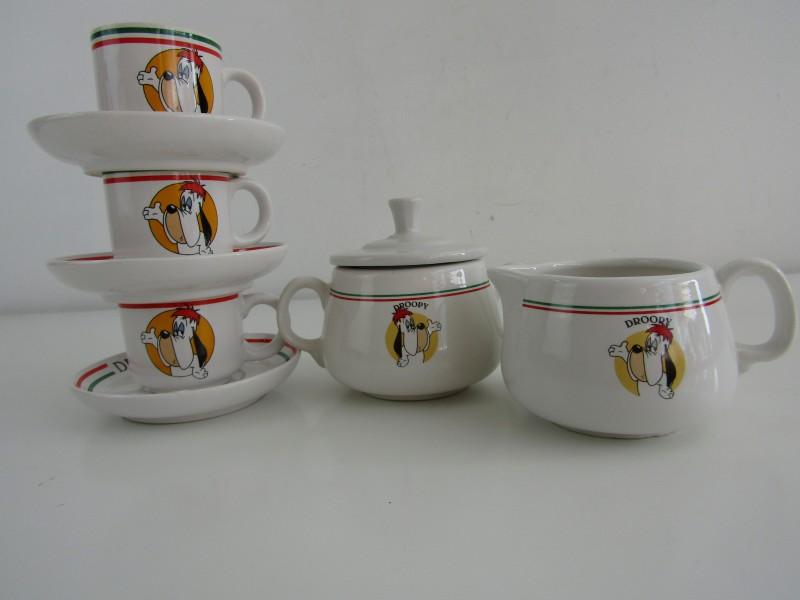 8-Delig Espresso Setje: Droopy Expresso,  Tropico Diffusions / Turner Entertrainment, 1998