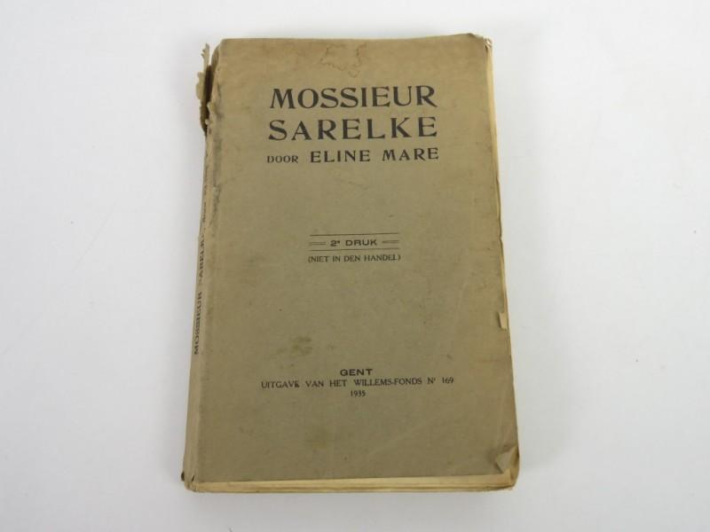 Boek - Mossieur Sarelke