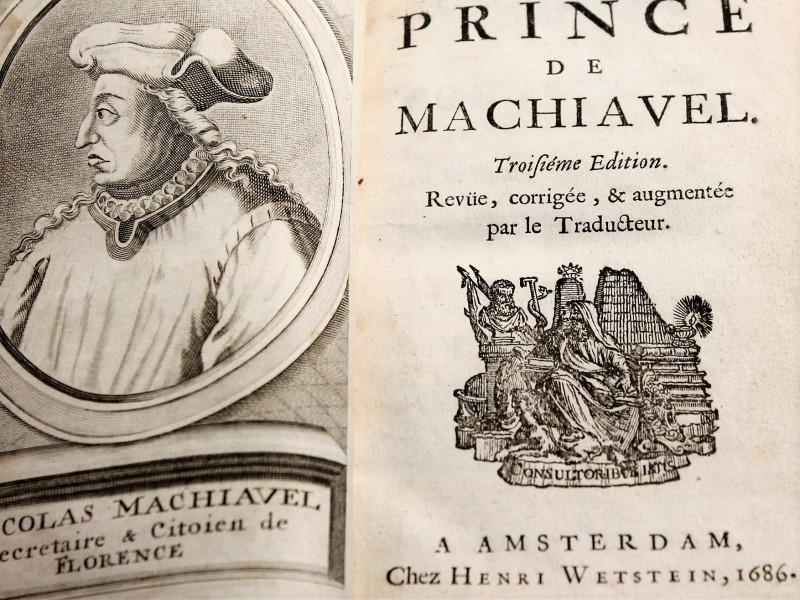 Le Prince de Machiavel 1686