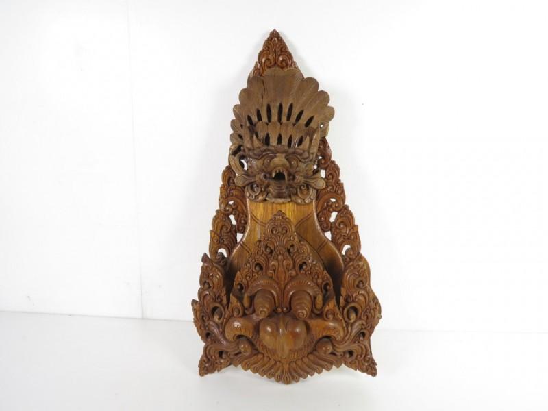 Indonesisch houtsnijwerk