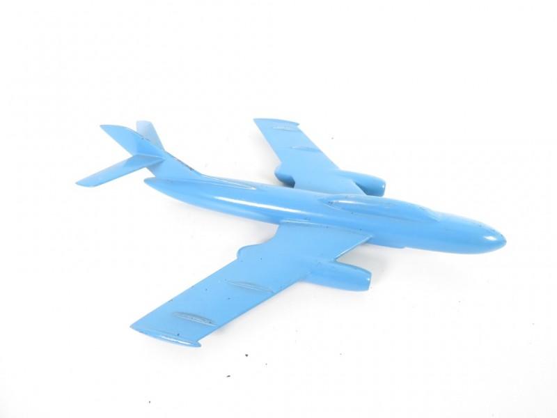 Aluminium schaalmodel vliegtuig 1