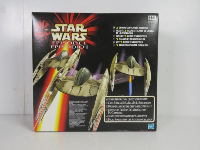 Hasbro - Star wars - 3 droid star fighters