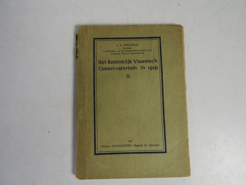 Boek - Het koninklijk Vlaamsch conservatorium in 1919