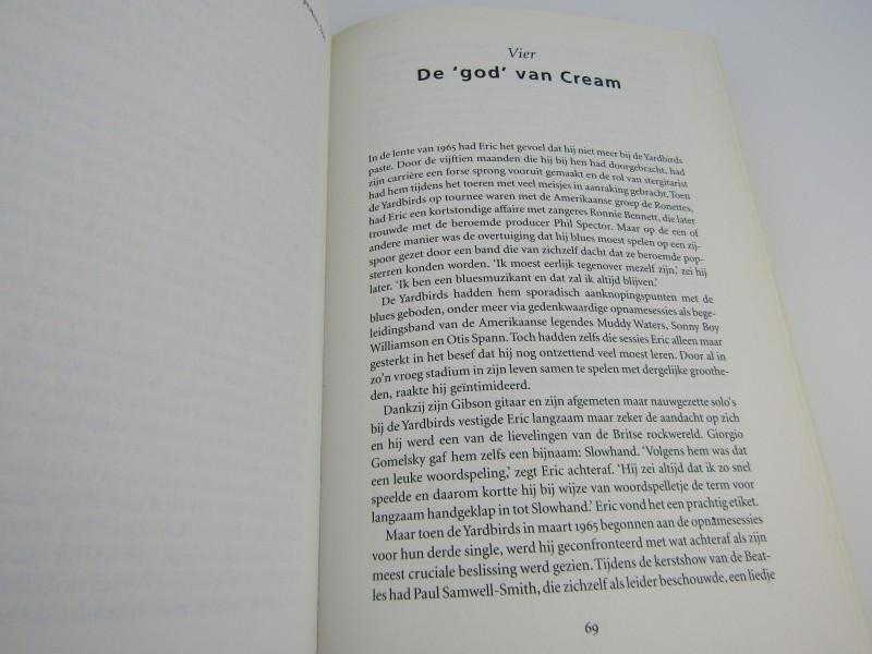Boek: Clapton, De Biografie Van Een Fenomeen, Ray Coleman, 1995