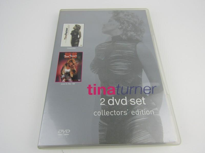 Dubbel DVD, Tina Turner: 2 Dvd Set, Collectors Edition, 2004