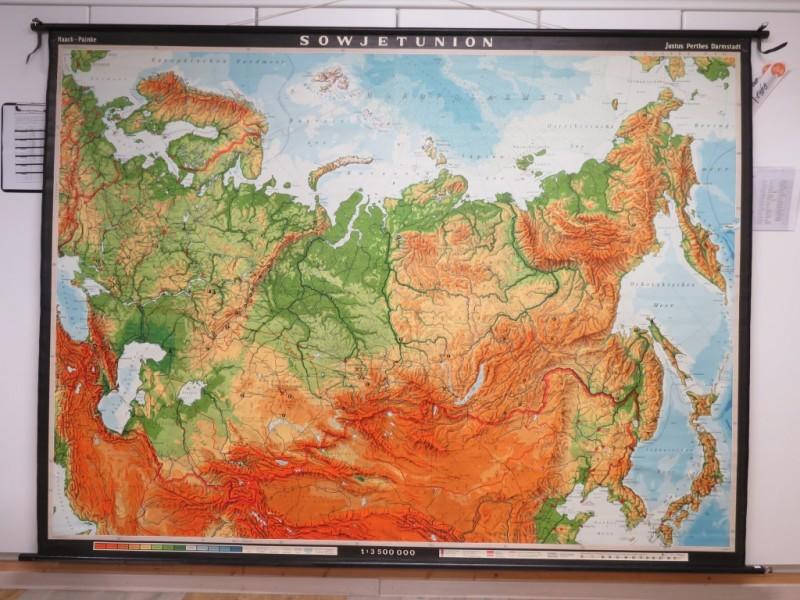 Schoolkaart - Soviet Unie