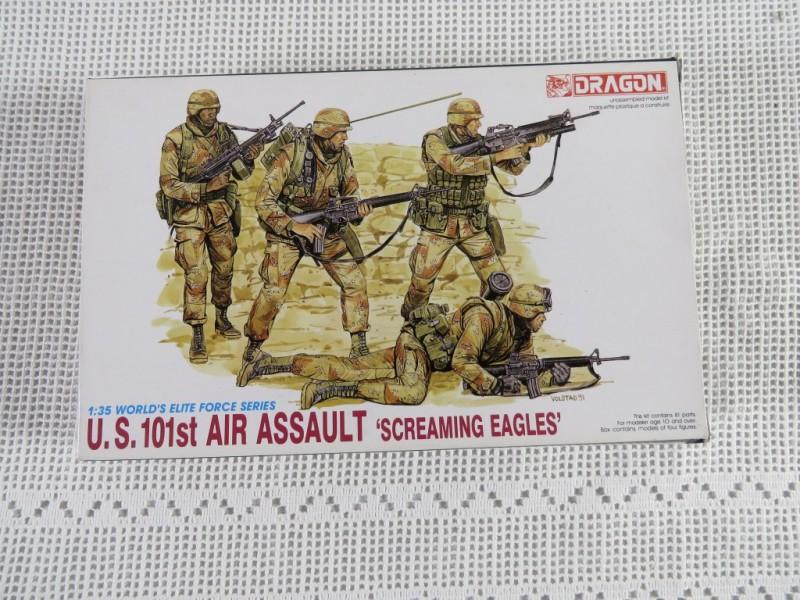 Modelbouw Dragon - US 101st air assault