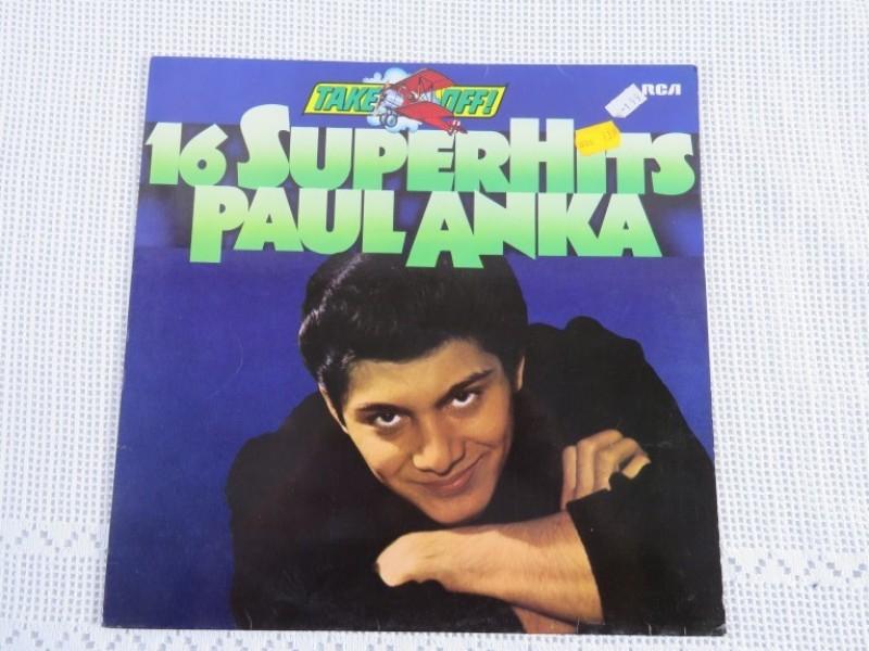 Lp - 16 Superhits Paul Anka