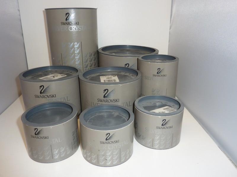 Set van 7 Swarovski items in originele dozen