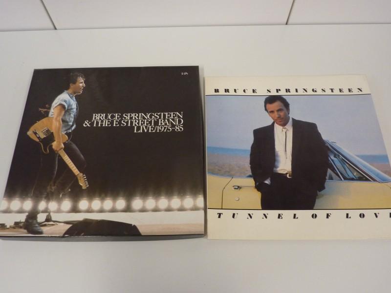 Unieke verzamelbox Lp's van Bruce Springsteen