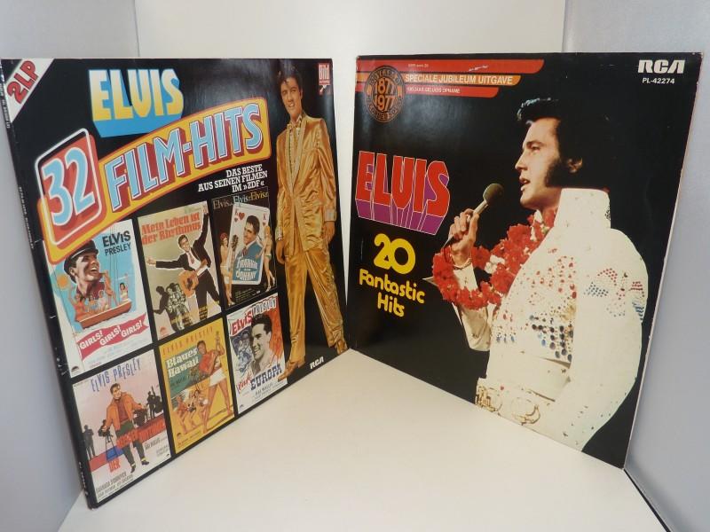 Set van 3 lp's van Elvis Presley