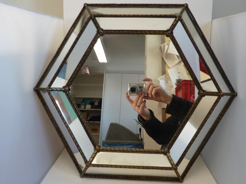 Diamant vormige spiegel
