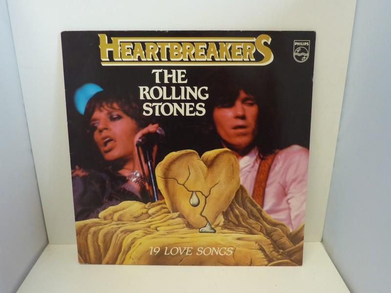 Drie lp's van The Rolling Stones