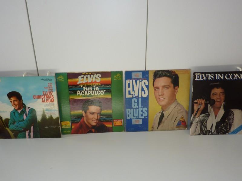 Reeks van 5 lp's van Elvis Presley