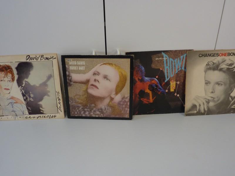 Reeks van 4 platen door David Bowie