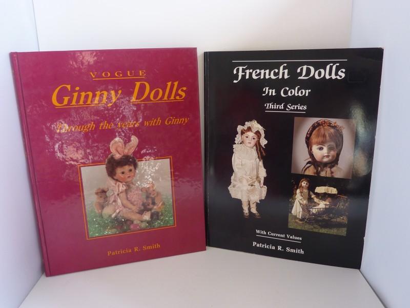 Duo Engelstalige boeken over oude poppen