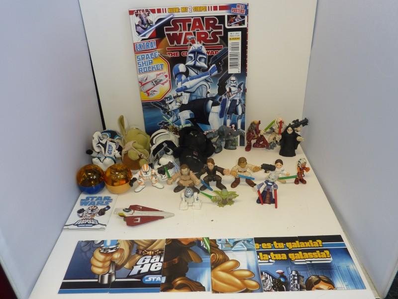 Reeks van 28 items uit de Star Wars reeks