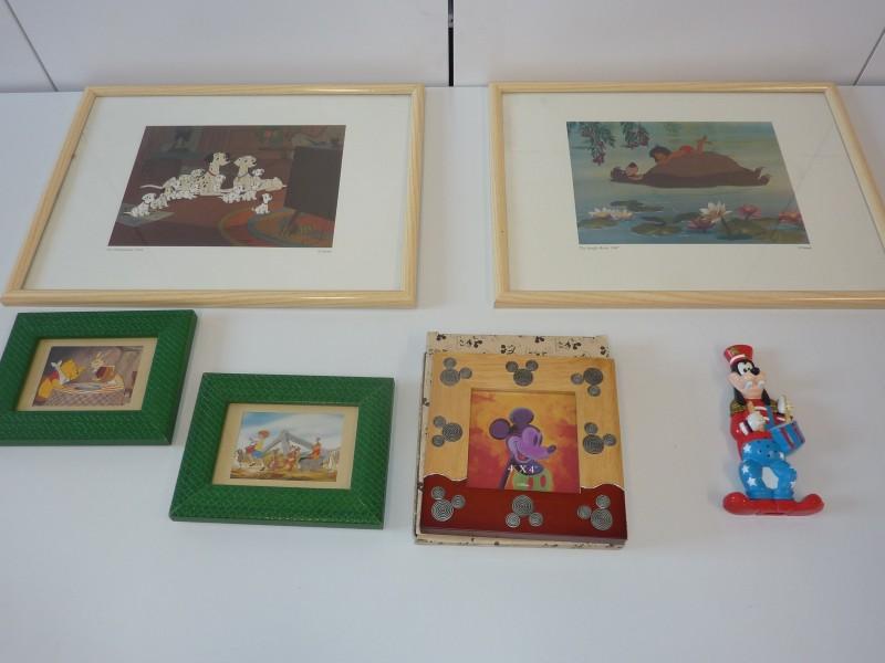 Set van 6 items met een Disney thema