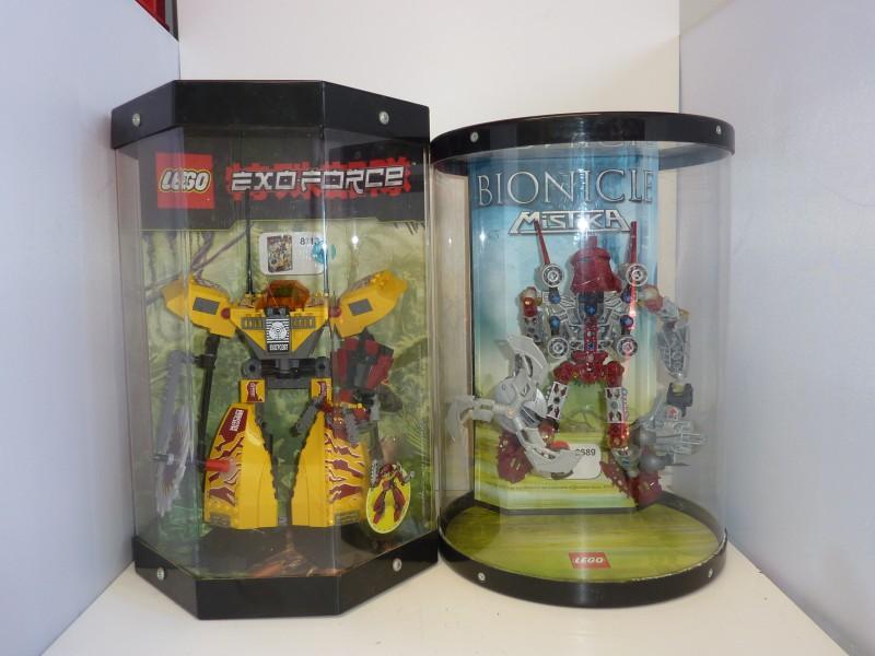 Duo LEGO Bionicle poppen in verpakking