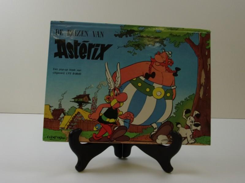 Uderzo: De reizen van Astérix pop-up boek 1974 eerste druk