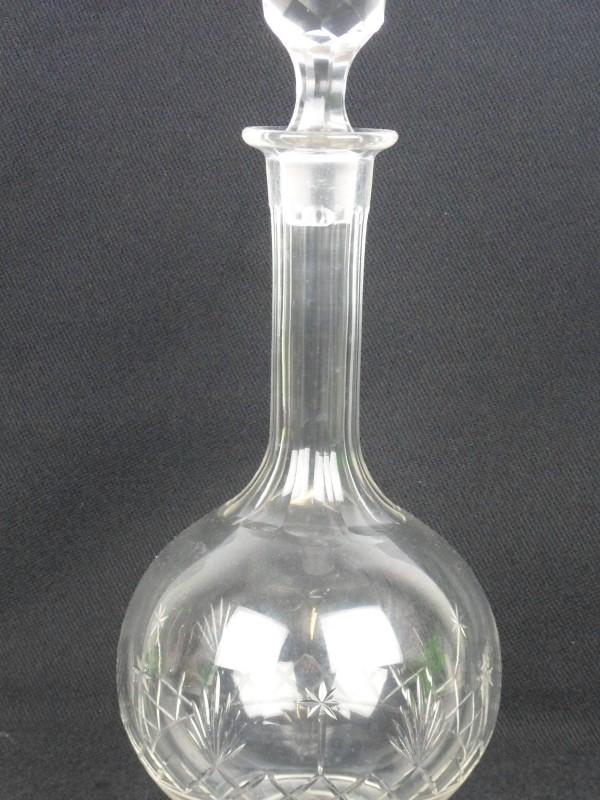 Glazen drankfles (A)