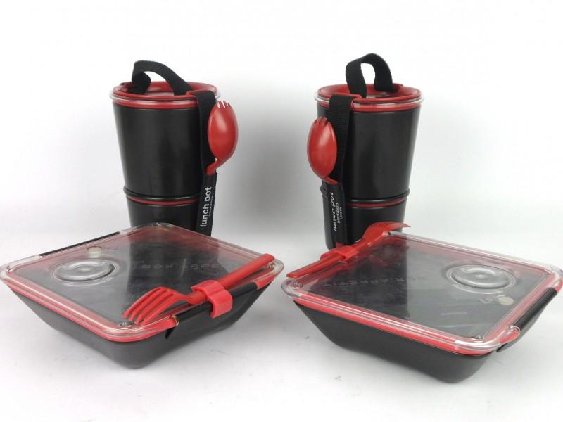 Maaltijd- & lunch-box (black&blum)