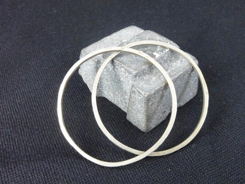 2 Zilveren armbanden (Sterling)