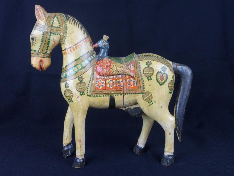 Vintage houten paard